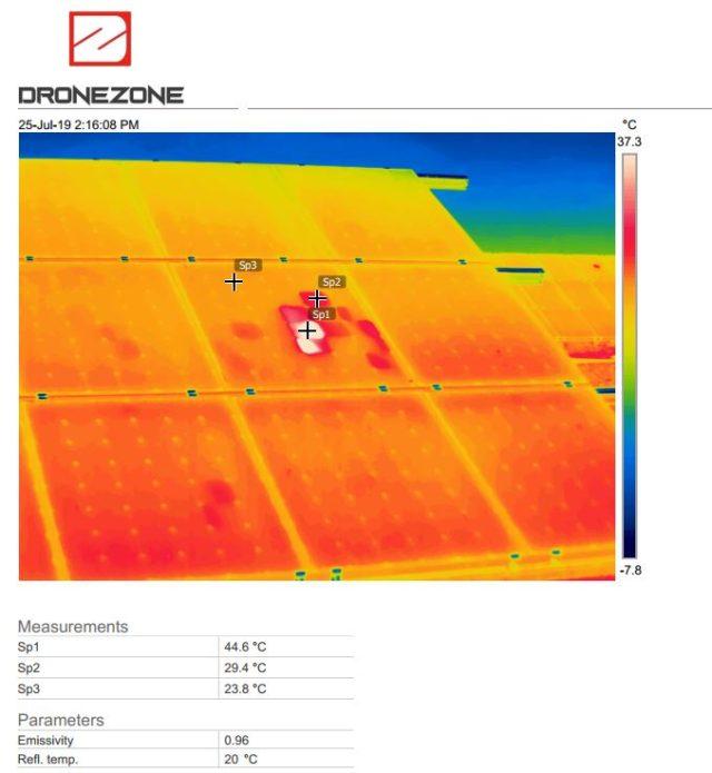 Inspectie panouri fotovoltaice