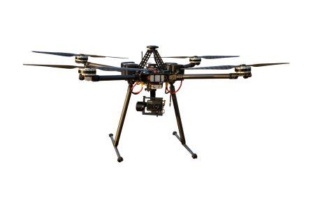 drona quad cu flir