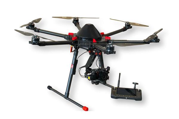Drona profesionala hexacopter
