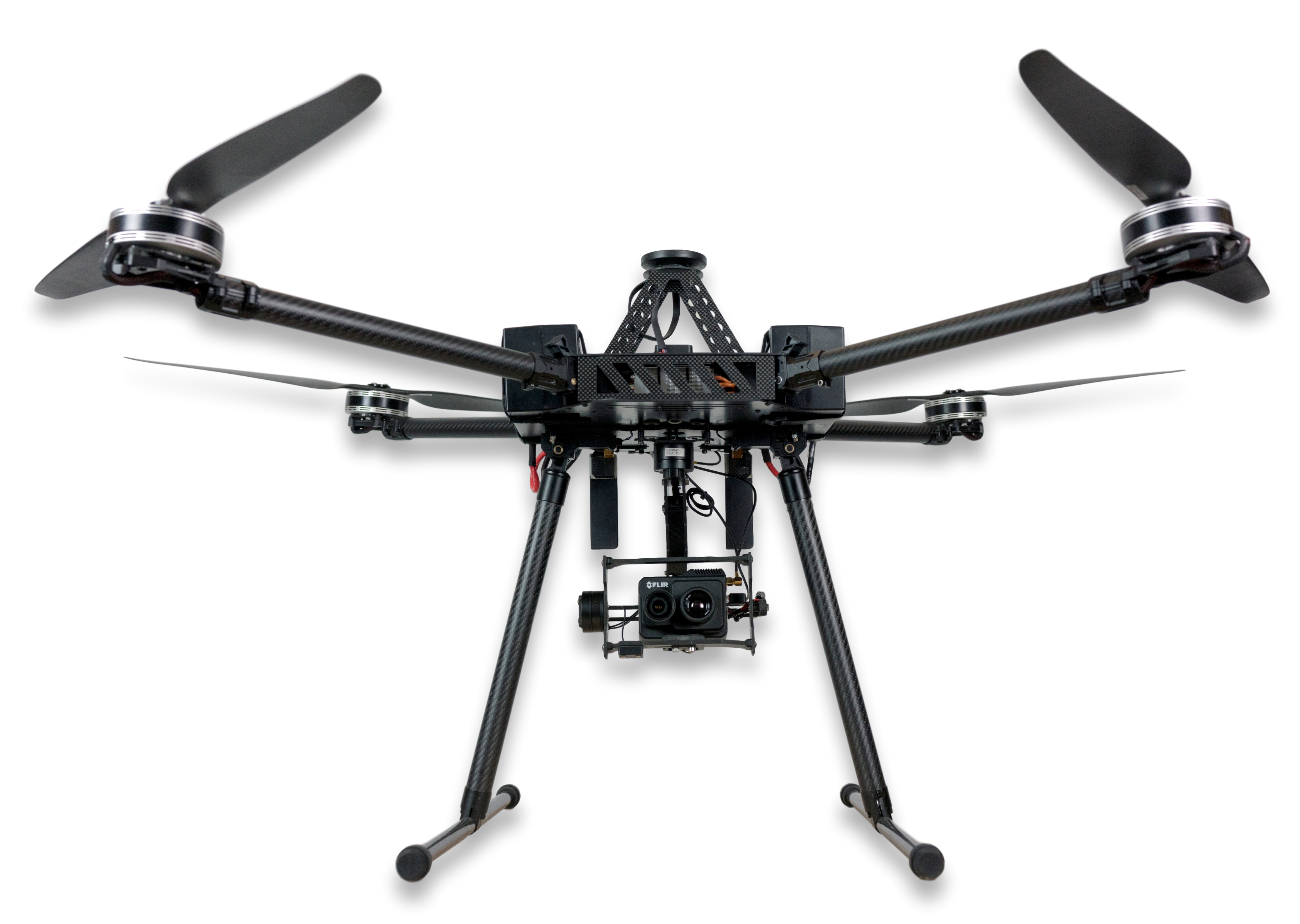 Dronele profesionale de tip custom, in domeniul securitatii