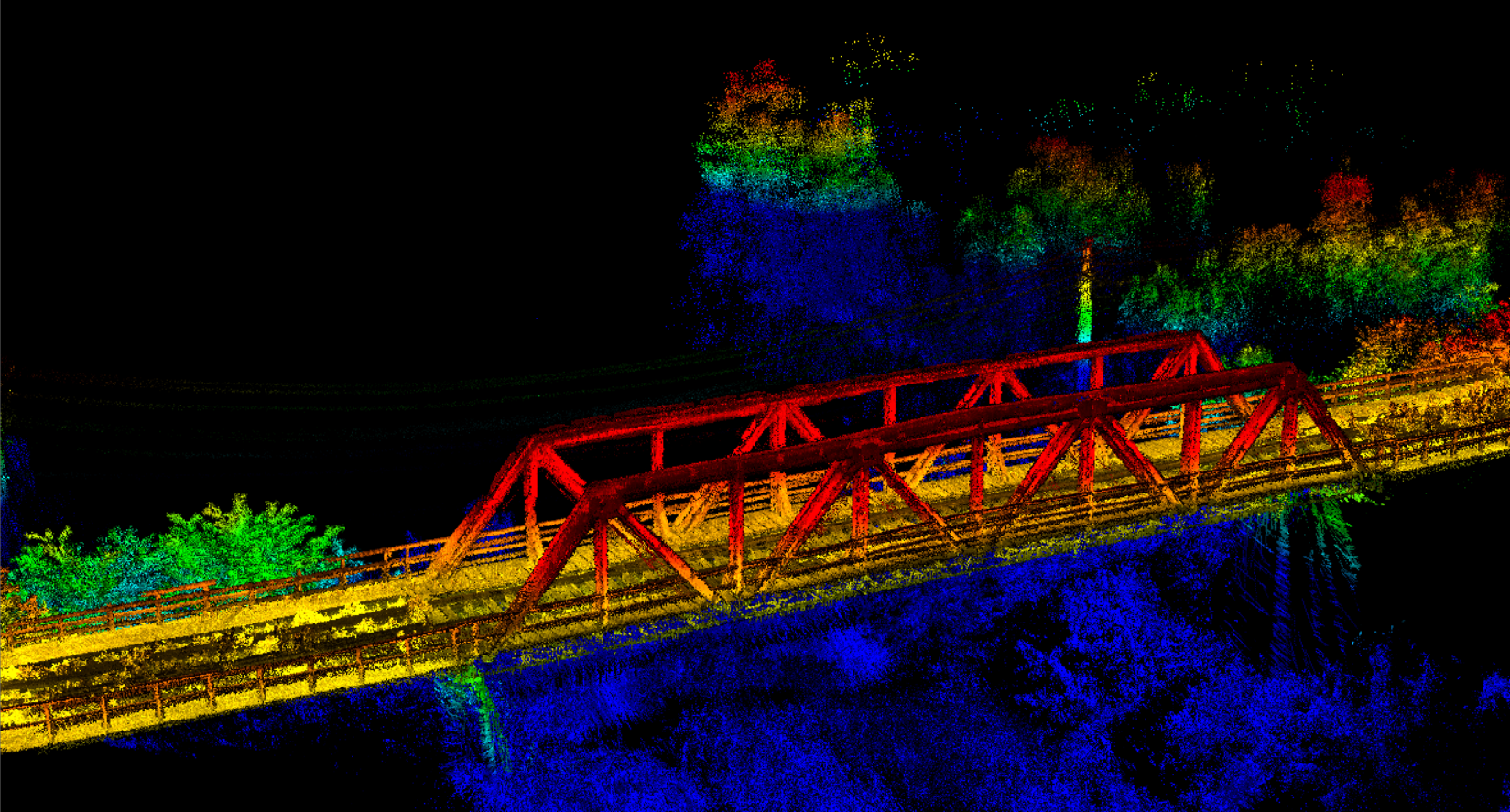nor de puncte scanare 3d sistem lidar dronezone
