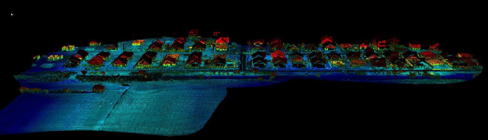 nor de puncte scanare 3d sistem lidar dronezone drona